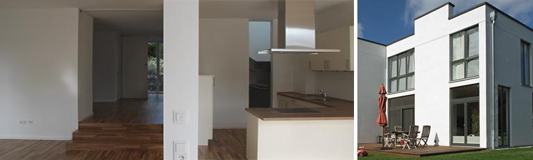 Neubau Hamburg - Wohnzimmer, Terrasse