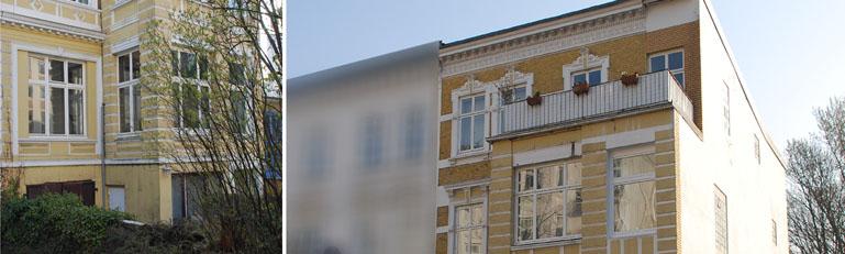 Altbausanierung Mehrfamilienhaus