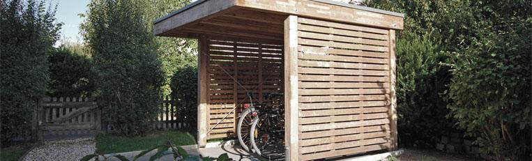 Fahrradunterstand Neubau in Wedel