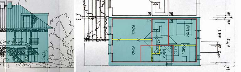 Umbau Reihenhaus Hamburg - R.Nagel - Architekt
