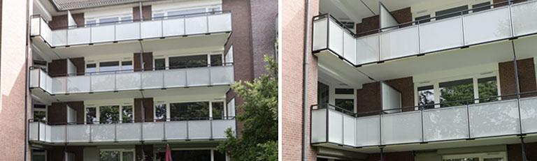 Balkonsanierung Mehrfamilienhaus