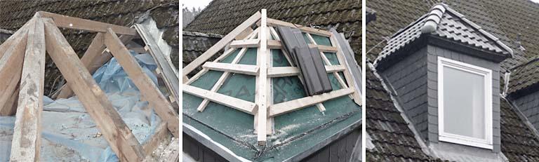 Dachsanierung Dachgauben - R.Nagel - Architekt