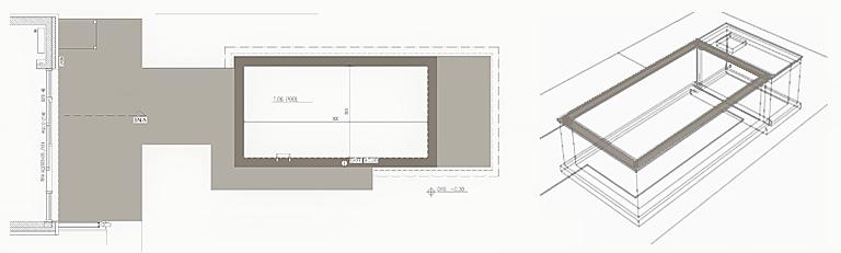 Schwimmbecken Planung R.Nagel - Architekt in Wedel