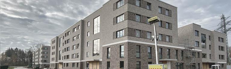 Neubau Wohnanlage - 140 Wohneinheiten , R.Nagel - Architekt